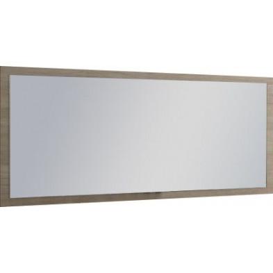 Miroir mural marron contemporain L. 180 x H. 82 cm collection Fontelas