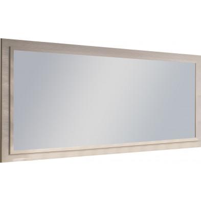 Miroir mural beige design L. 140 x P. 4 x H. 85 cm collection Siem