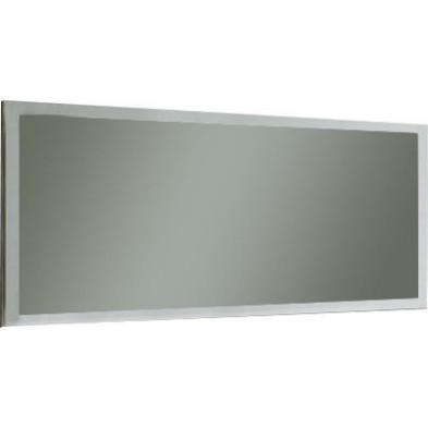 Miroir mural blanc design en panneaux de particules de haute qualité L. 180 x H. 82 cm collection Ilene