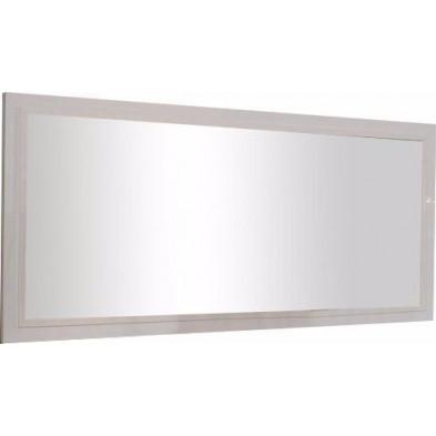 Miroir mural blanc design L. 180 x P. 2 x H. 85 cm collection Join
