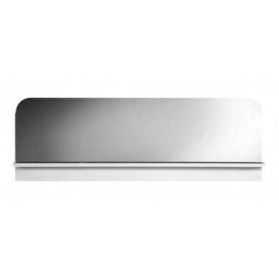 Miroir de salle à manger blanc design en panneaux de particules de haute qualité L. 159 x P. 16 x H. 54 cm collection Jessie