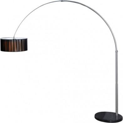 Lampadaire noir design en nylon collection Cuquello
