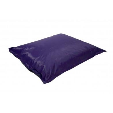 Repose-pied et pouf violet moderne L. 150 x P. 150 x H. 30 cm collection Maarten