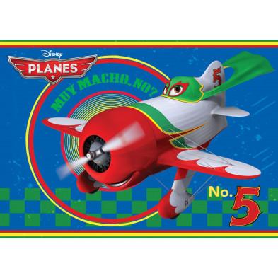 Tapis 95x133cm Planes Disney number 5  L. 95 x P. 133 cm collection