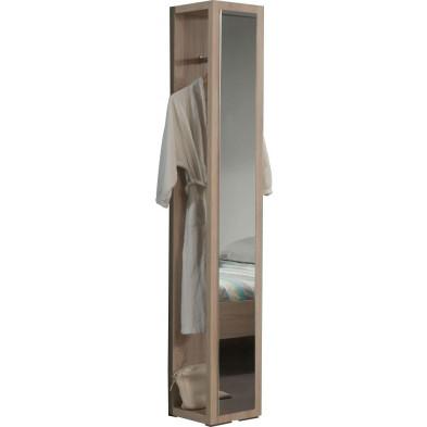 Porte-manteau pour chambre adulte avec miroir collection Vanoostende