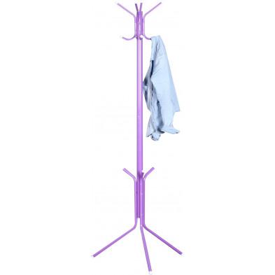 Porte-manteau 185 cm  design en métal coloris violet collection Cranworth