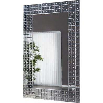 Miroir mural 109x 180 cm design verre transparent collection Urnenga