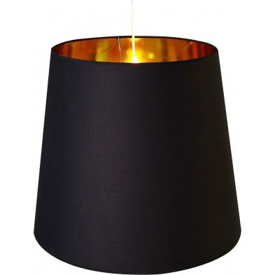 Lampe suspendue 50 cm coloris noir design collection Bulphan