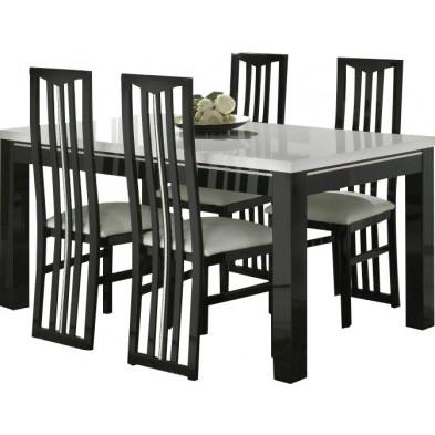 Ensembles tables & chaises blanc design collection Check