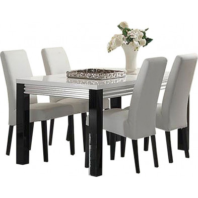 Ensembles tables & chaises noir design collection Sabugueiro